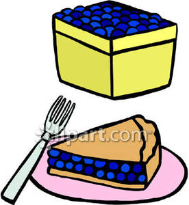 A basket of and. Blueberries clipart cartoon