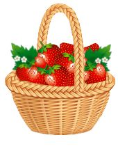 berries clipart berry basket #30979671