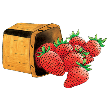 Berries clipart berry basket. Sweet try this simple