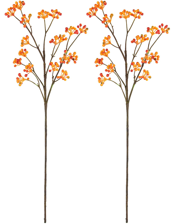 Rinlong pcs artificial stems. Berries clipart berry branch