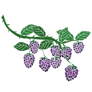 Berries image panda free. Berry clipart berry bush