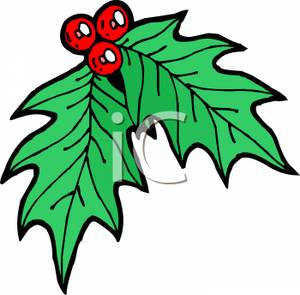 Berries clipart cartoon. Of holly and royalty