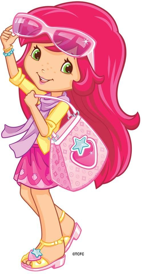 best strawberry shortcake. Berries clipart character