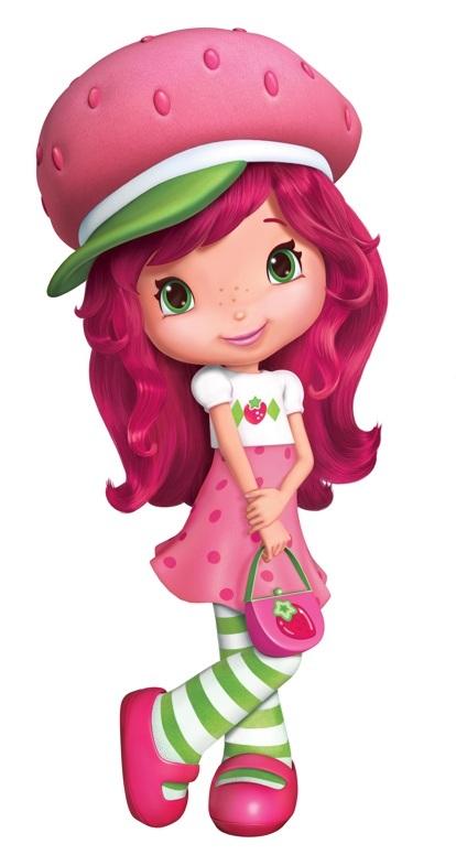 Strawberry shortcake berry bitty. Berries clipart character