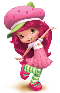 Strawberry shortcake characters berry. Berries clipart character