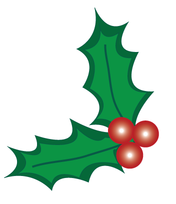 Christmas Holly Berry Clipart
