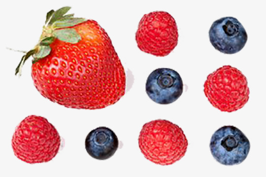 A berry strawberry blueberry. Berries clipart goji berries