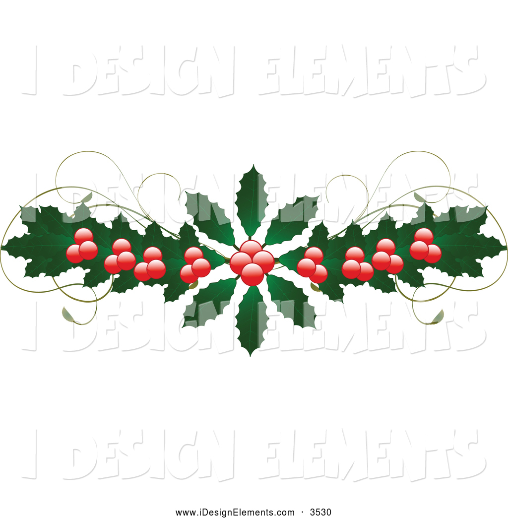Clip art of a. Berries clipart holiday