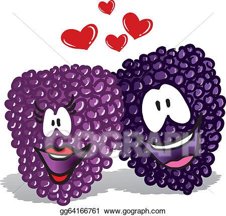 Berries clipart illustration. Vector stock lover gg