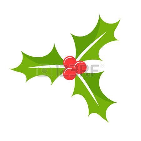 Christmas . Berries clipart illustration