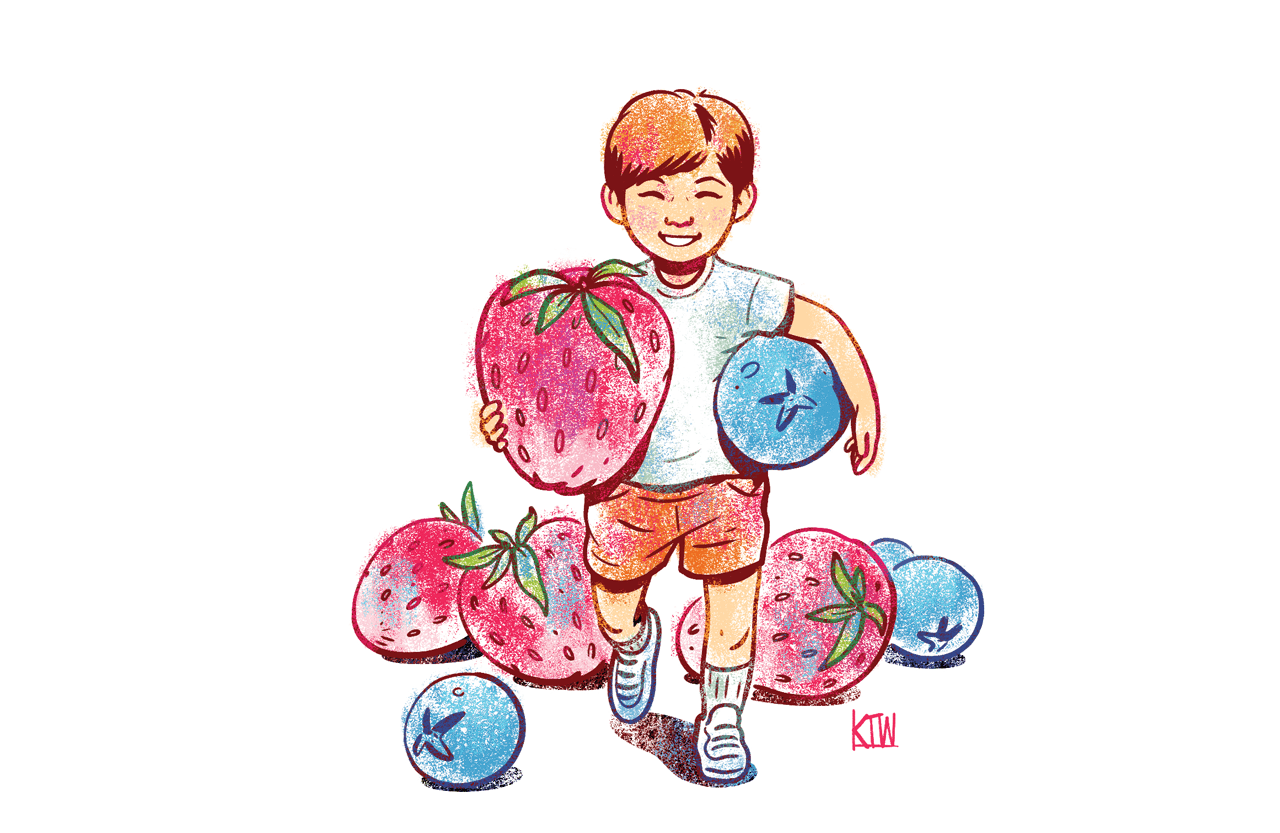Two are better than. Berries clipart kid