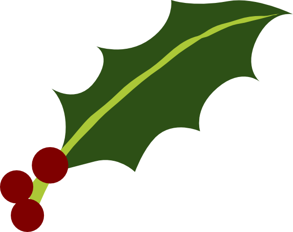 One Holly Leaf