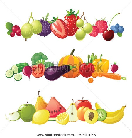 best fruit vegies. Berries clipart mango
