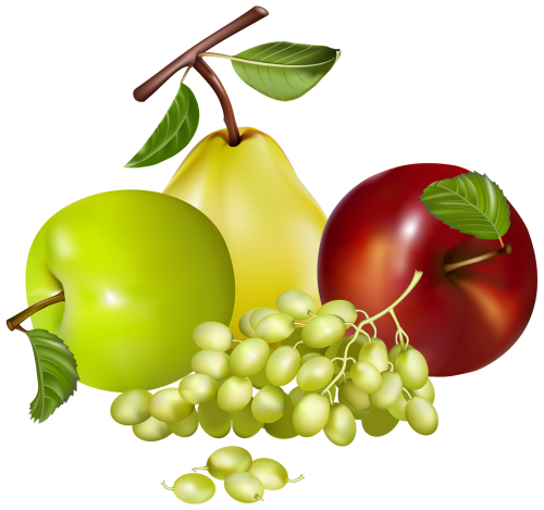 Berries clipart mix. Mixed fruits png gy
