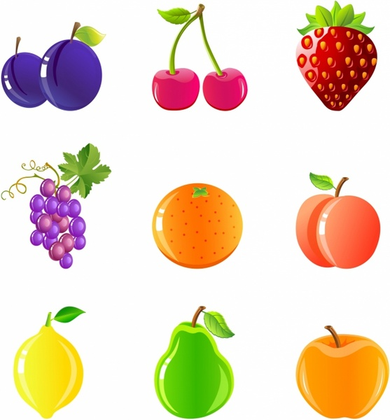 Berries clipart nuts. Fruit and free vector