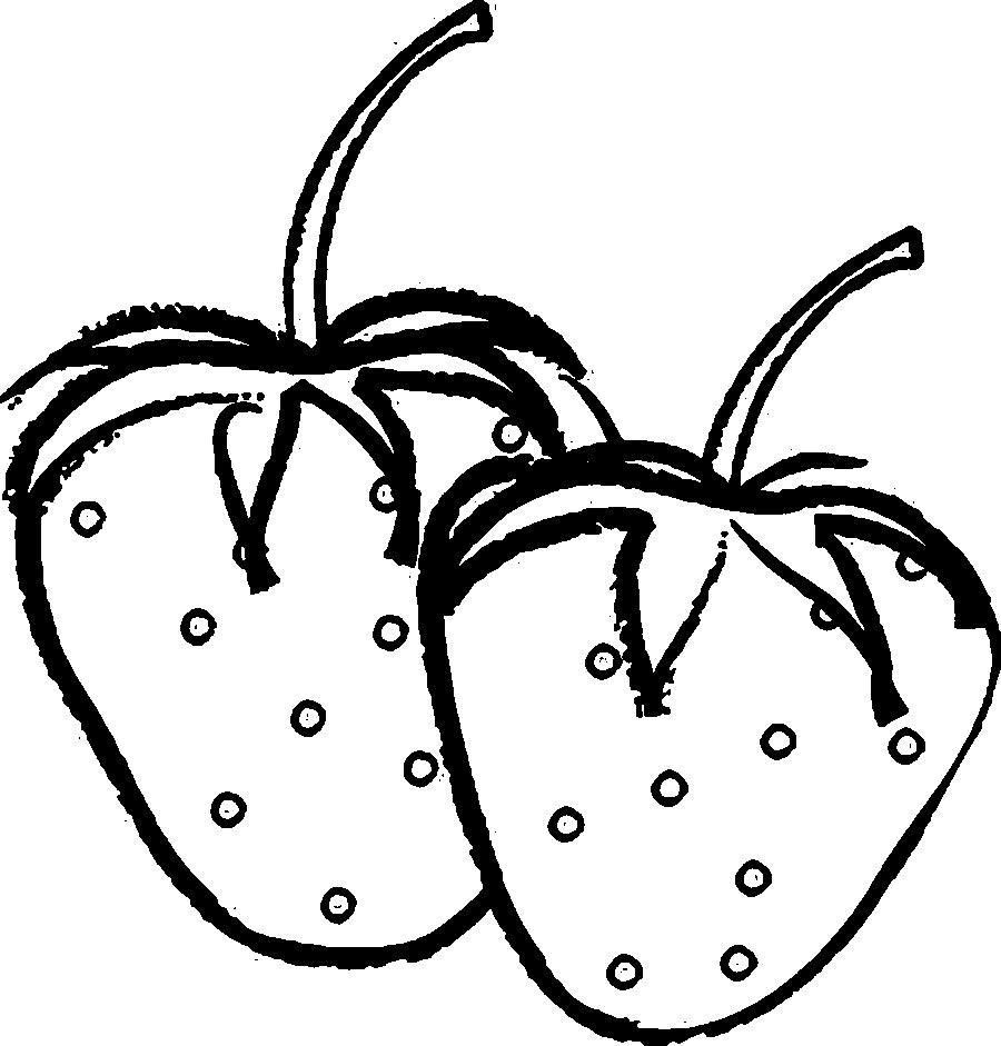 Berries clipart outline. Unique coloring pages gallery