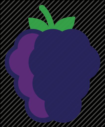 Iconfinder flat fruits veggies. Berries clipart purple berry