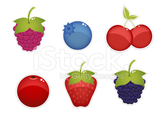 berries clipart Royalty Free