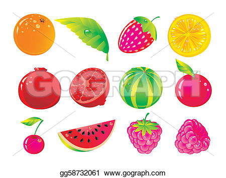 The ripe clipground art. Berries clipart vector