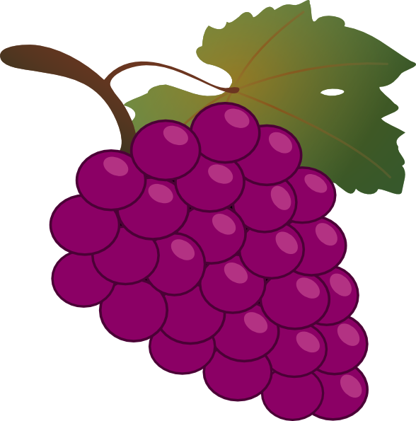 Grapes clipart ten. Free cartoon cliparts download