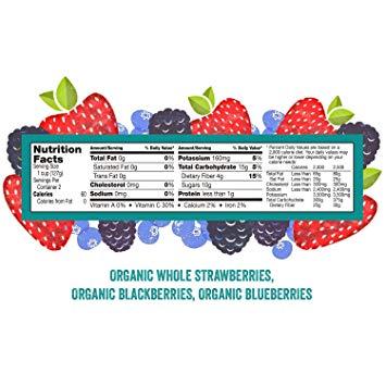 Cascadian farm organic blend. Berry clipart antioxidant