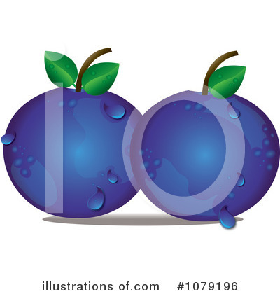 Blueberry illustration by pams. Berry clipart antioxidant