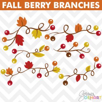 Clip art fall berries. Berry clipart autumn berry
