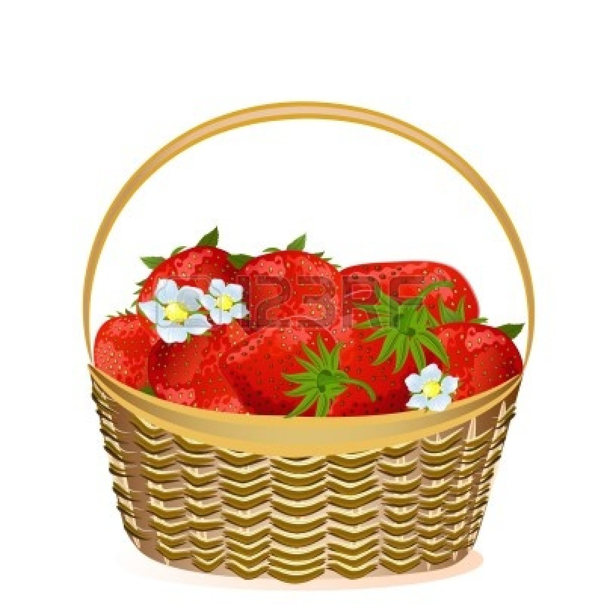 Panda free images of. Berry clipart berry basket