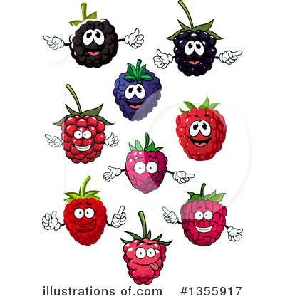 Berries clipart vector. Berry illustration by tradition