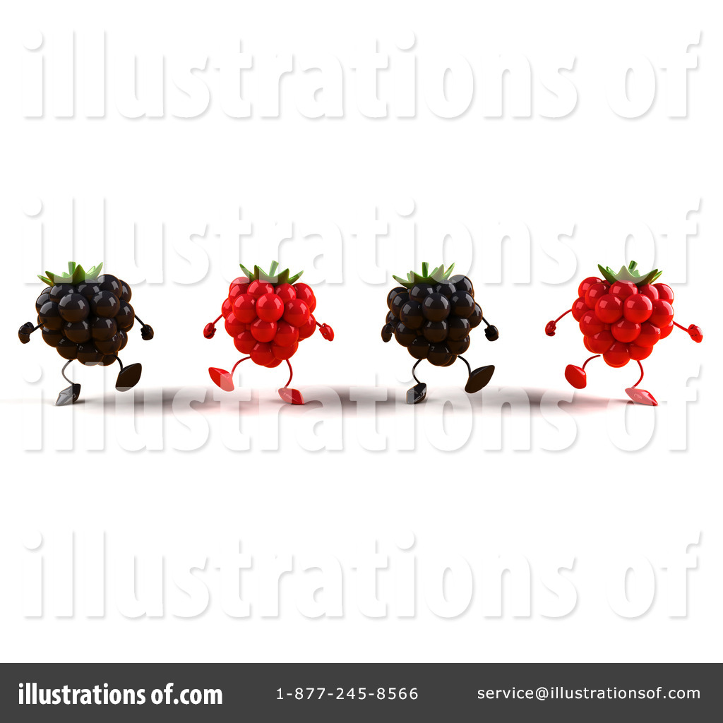 Berry Characters Clipart