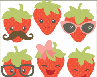 Berry clipart cute
