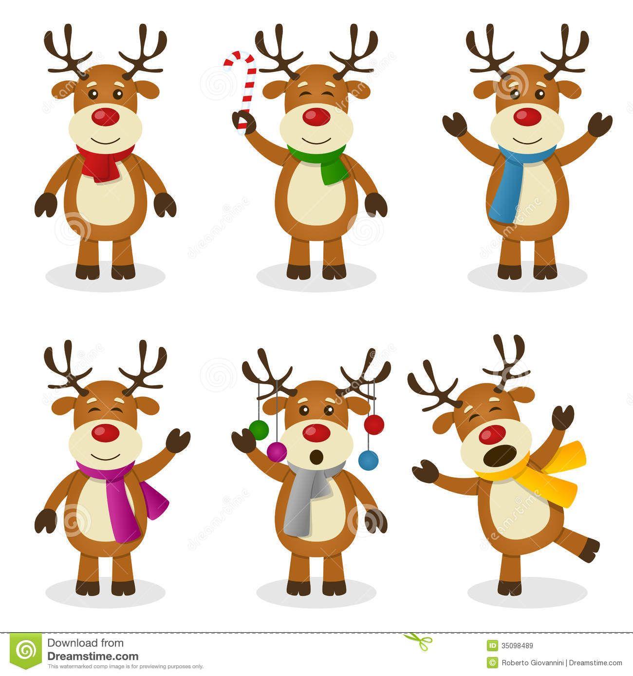 Clipart reindeer reinder. Border kid merry christmas