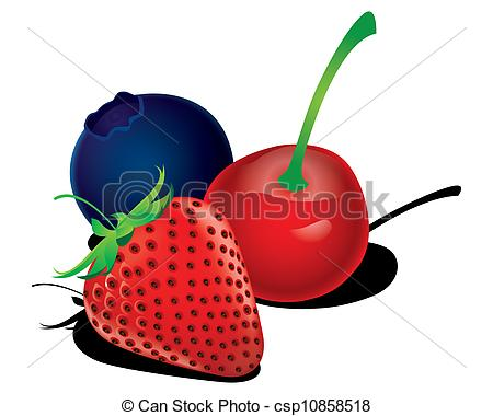Berry clipart mixed berry.
