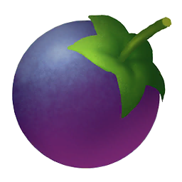 berry clipart purple berry #31029663