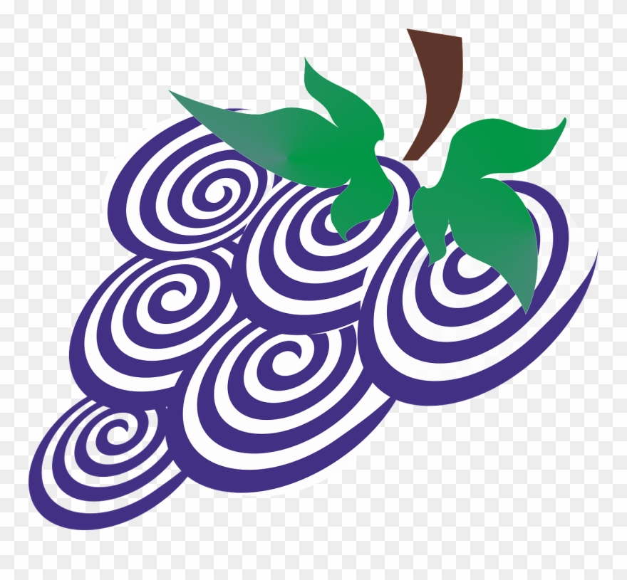 Berry clipart purple berry. Grapes a bunch of