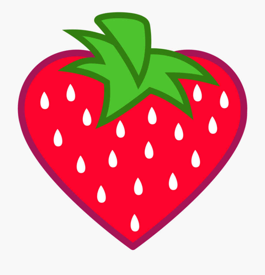 Strawberries clipart 8 object. Objects that are heart