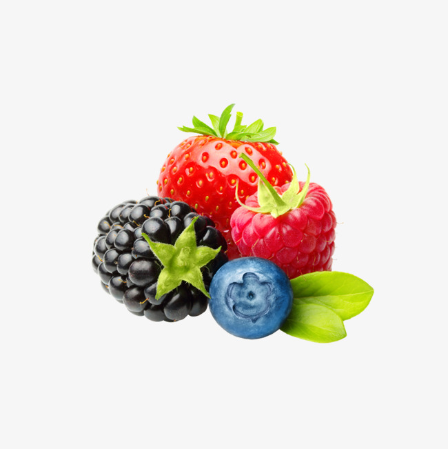 Strawberry fruit png image. Blueberry clipart fresh