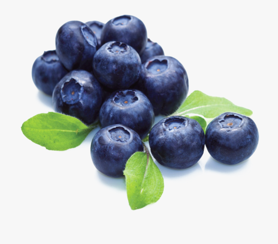 Blue berries with . Blueberries clipart transparent background