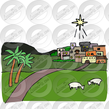 Picture for classroom therapy. Bethlehem clipart