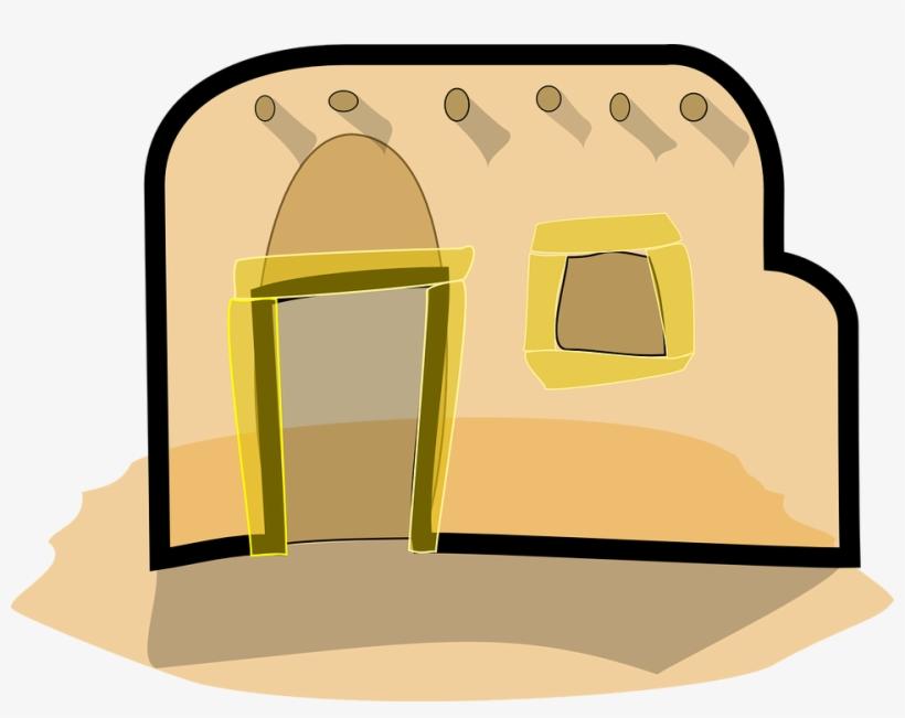 Bethlehem clipart animated. Mud house in cartoon