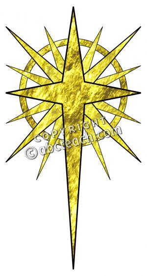 Of bethlehem christmas . Christian clipart star