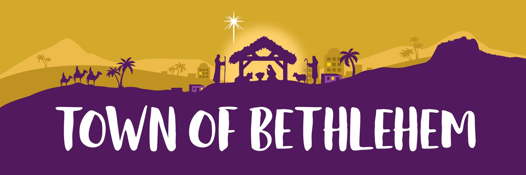 Bethlehem clipart bible city. Town of stable on