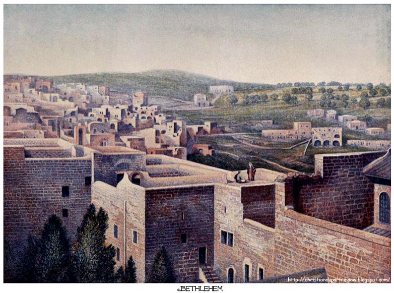 bethlehem clipart biblical city