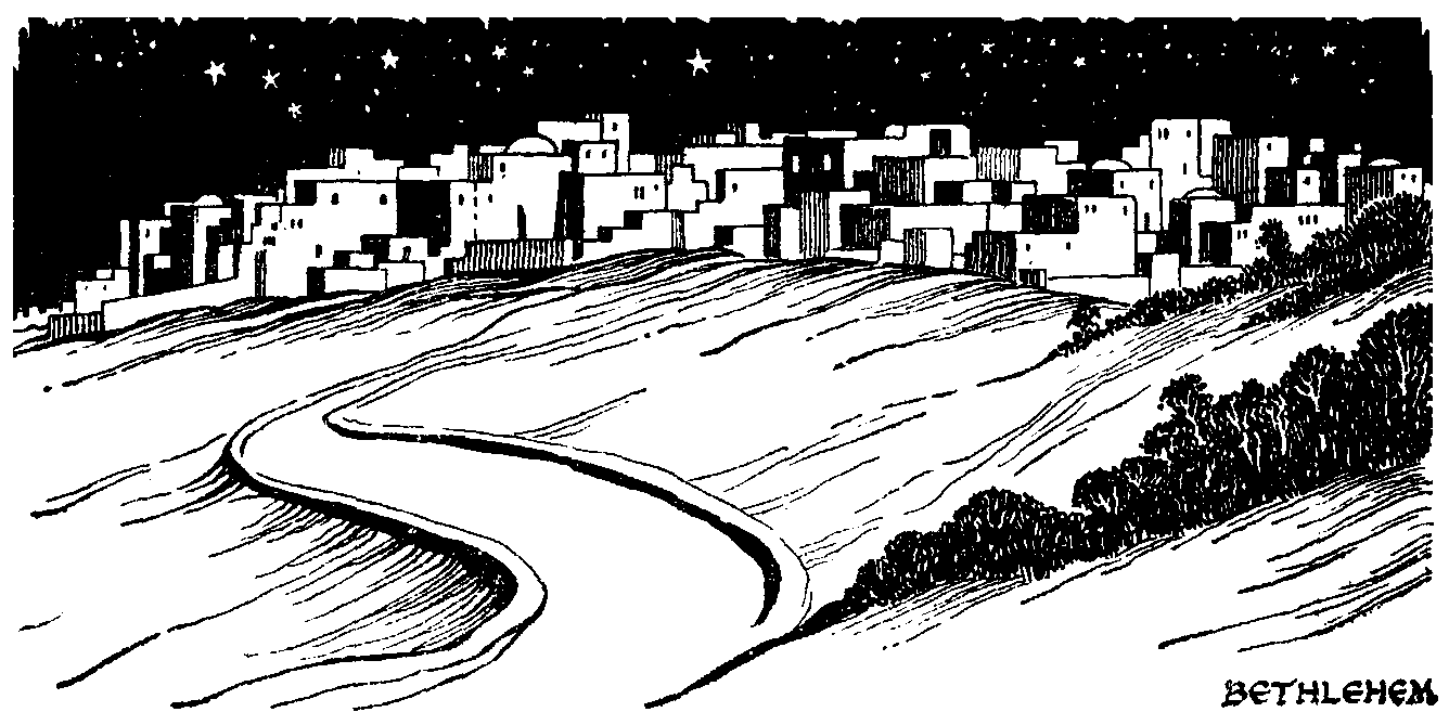 Bethlehem clipart black and white. Google search christmas clip
