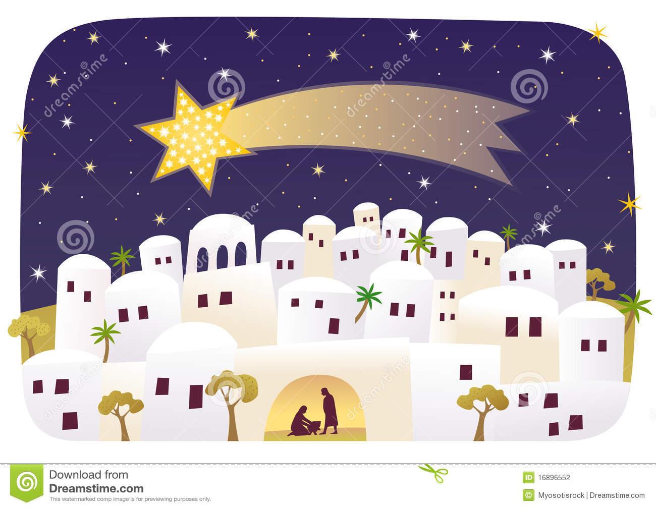 Bethlehem clipart cartoon.  collection of jesus