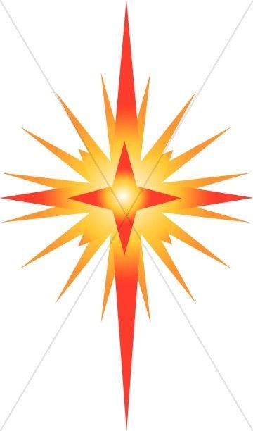 Bethlehem clipart clip art. Bright star of christian