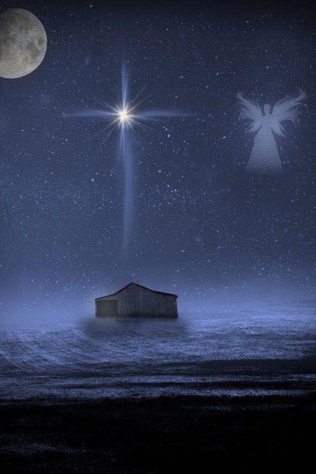 Bethlehem clipart creche. Star of christmas pinterest