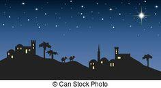Bethlehem clipart creche. Silhouette cutting files svg