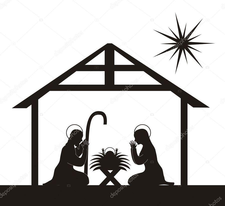 Download clip art nativity. Bethlehem clipart creche