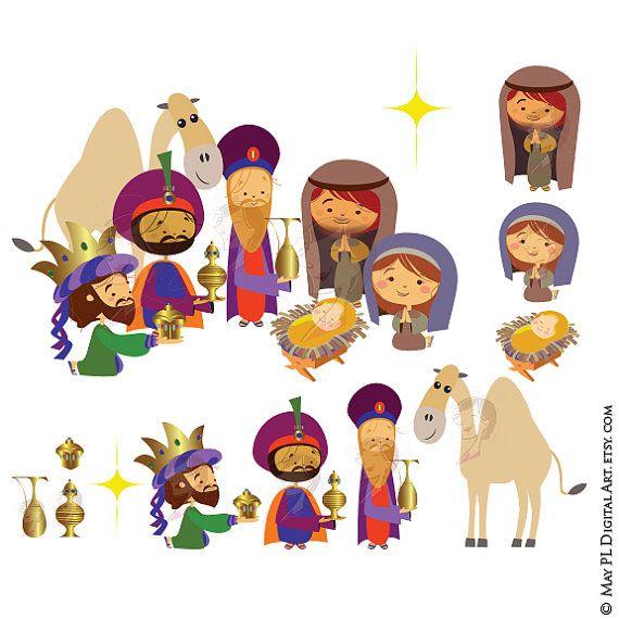 Pin on christmas clip. Bethlehem clipart cute